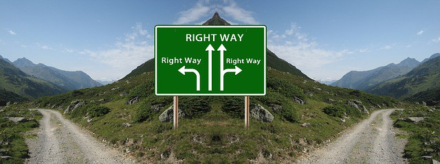 The Right Way Signal - Quel que soit le chemin que vous choisirez, faites que ce soit le bon pour vous
